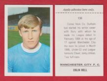 Manchester City Colin Bell England 136